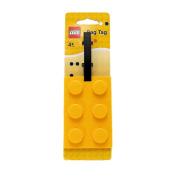 Lego Stationery Lego Brick Luggage Tag Yellow