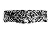 Hair Clip | Barrette | Art Nouveau Swirl