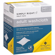 Simply Right Adult Washcloths - 480 ct.