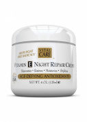 Vitamin E Night Repair Creme, Vital Care Age Defying Antioxidants, 4 0z