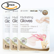 Hand Hydrating Gel Moisture Moisturising Gloves with Shea Butter & Jojoba & Vitamin E for Women,Girls,Men