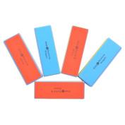 KLOUD City ® 5 pcs 4 Way Colourful Nail Art Buffer Buffing Sanding Files Block Manicure Care DIY