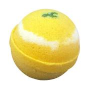handmade bathbomb tennis ball size - Lemongrass