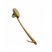 SEEKO Brush Natural Boar Bristle Detachable Long Handle Wooden Bath TFA666
