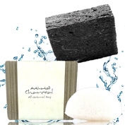 The BEST Activated Charcoal Soap   All Natural Organic Infused With Loads of Charcoal for Maximum Cleansing Effectiveness. For Women, Men and Teens On Face or Body, Chemical & Preservative Free.