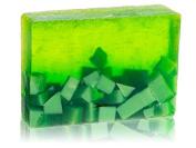 Sparta Soaps Handmade Glycerin Soap Bar - Green Melon