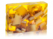Sparta Soaps Handmade Glycerin Soap Bar - Lemon & Tea Flower