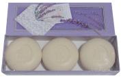 Saponificio Artigianale Fiorentino 'Profumi e Baci' Perfumed Kisses Lavender Soap 3 160ml Round