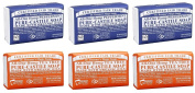 Dr. Bronner's Magic Castile Bar Soaps, Peppermint & Tea Tree