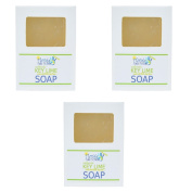 Florida Salt Scrubs - Key Lime Soap Set of 3