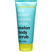 anatomicals the seven deadly skins melon body scrub 200ml