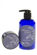 Blossom and Pearl French Lavender Cosmetics Bundle - Lavender Balm, Lavender Hand Soap. Dead Sea Salt products.