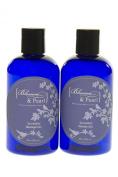 Blossom and Pearl French Lavender Deep Sea Cosmetics Bundle - Lavender Massage Oil, Lavender Shower Gel