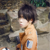 Sunny-business Anime Short Attack on Titan Eren Jaeger Cosplay Wigs