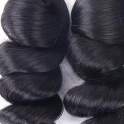 Unprocessed 100 Brazilian Human Hair Loose Wave Bundle Weaves. 41cm 46cm 50cm )