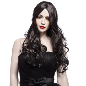 Fashion New Wigs Long Black Wigs for Women, Long Natural Synthetic Hair Wigs 5115
