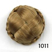 Synthetic Hair Roller Hair Piece Chignons Bun Hair Clip-In Chignon Hairpiece