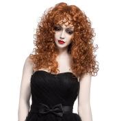 Nawomi Wigs 100% Kanekalon Long Curly Wigs for Young Women 2108