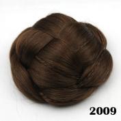 Big Hair Bun Synthetic Hair Chignon Hairpiece Fake Hair Buns Hair Pieces Bun
