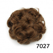 Flower Chignon Synthetic Hair Buns Hairpieces Fake Hair Bun Hair Chignons