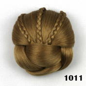 Hair Chignon Synthetic Hair Bun Hairpiece Fake Hair Buns Hair Roller
