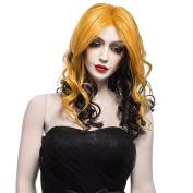 Nawomi WIG 100%kanekalon Female Medium Long Wavy Wigs for Women 2109