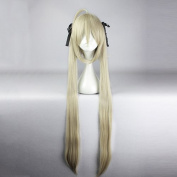 springcos Yosuga no Sora Kasugano Sora Anime Hair Wig with Bang + 2 Ponytails