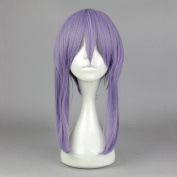 springcos Seraph of the end hiiragi shinoa Women Cosplay Purple Wig with Braid
