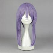 springcos Seraph of the end hiiragi shinoa Women Cosplay Purple Wig with Braid