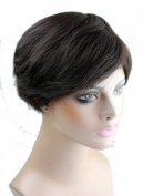 Dreamhair Indian Virgin Hair Cheap Wigs Short Natural Looking Wigs