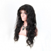 AM Youth Human Hair Lace Front Wig Glueless Lace Front Human Hair Wigs Body Wave Natural Colour Size 50cm