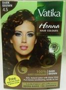 Dabur Vatika Henna Based Multiple Hair Colour 60ml - Dark Brown