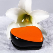 AUCH New/Fashion Pink Colour Magic Detangling No Tangle Compact Styler Hair Comb Brush,Orange