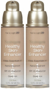 Neutrogena Cosmetics Healthy Skin Enhancer SPF 20, Fair to Light 20, 2 pk