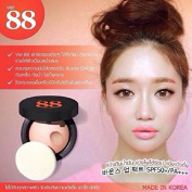 Ver.88 Bouce Up Pact SPF 50+/PA+++ All In One BB Cream, Foundation, Sunscreen Size 10ml