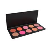Eforstore Cosmetic 10 Colour Professional Face Contouring Kit Blush Blusher Contour Powder Foundation Makeup Palette Set