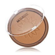 QINF Miss Rose Pearly Lustre Finish Shaping Powder Compact Powder Palette with Sun Block Function