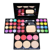 Easy Lifestyles 24 Colours Eyeshadow + 8 Colours Lipstick + 4 Colours Blusher + 3 Colours Loose powder Makeup Palette Multi-layer Makeup Kit