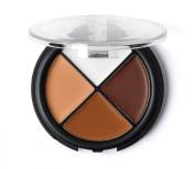 Sedona Lace 4 Colour Camouflage Concealer Palette - Dark
