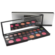Naras Professional Essential 26 Colours Makeup Palette Blush Powder and Eyeshadow With Mirror Makeup Kit Set