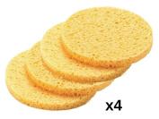 DMtse 4pcs Professional Make Up Remover Sponges