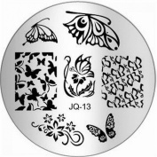 1Pc Pretty Nail Art Stamping Full Designs Image Stamp Multi Mix JQ-Series Type Code JQ13
