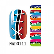 1 Pack Grand Nail Art Stickers Water Transfer Full Fashion Manicure Style Code NAD0111