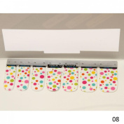 1 Pack Spruce Nail Art Stickers Polish Tips Water Transfer Self Design Type Code08