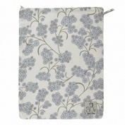 Zack & Tara Wet Bag - Beautiful Blossoms in Blue - Large
