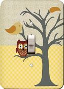 Nighty Night Owl Wall Plate Cover