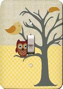 Nighty Night Owl Wall Plate Cover