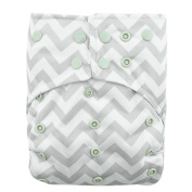 Alva Baby AI2 Colour Snap Reuseable Washable Pocket Cloth Nappy Nappy With 2 Inserts CS33