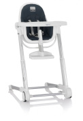 Inglesina Zuma Highchair, White/Graphite