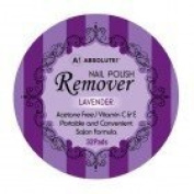 Absolute Nail Polish Remover Pads Lavender Scent